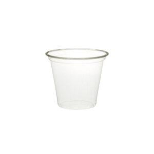PLA clear cup 125ml/5oz Ø74mm (1000 pcs)