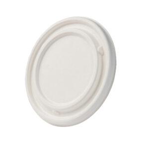 Sokeriruokokansi Ø105mm valkoinen, pyöreä (laatikossa 600 kpl.)