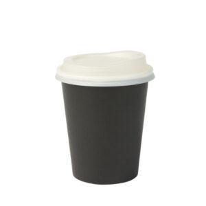 Paperikupit 200 ml, musta (1000 kpl.)