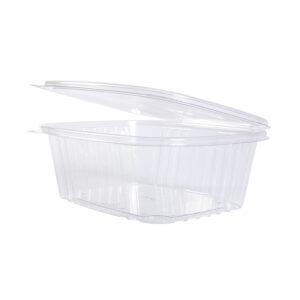 PLA food box 1000ml hinged lid (224 pcs)