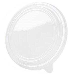 rPET-lids Ø185mm clear (300 pcs)