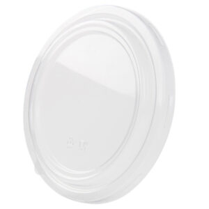 PLA lid Ø185mm clear (300 pcs)