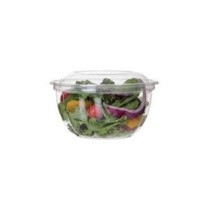 PLA salad bowl and lid 530ml (150 pcs)