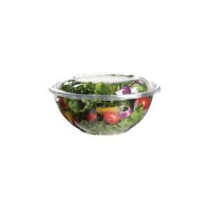 PLA salad bowl and lid 710ml (150 pcs)