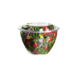 PLA salad bowl and lid 1420ml (150 pcs)