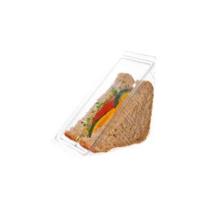 PLA sandwich wedge container 76mm (500 pcs)