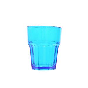 Juomalasi 250ml premium sininen, polykarbonaatti