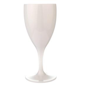 Viinilasi 320ml premium valkoinen, polykarbonaatti
