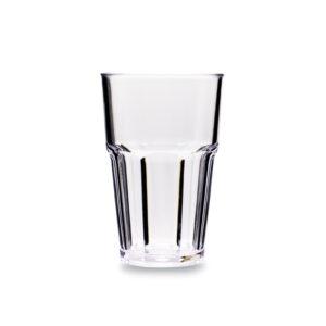 Korduvkasutatav klaas 400ml, läbipaistev