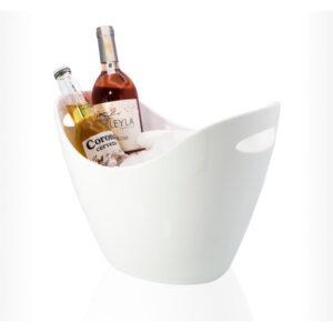 Champagne & wine bucket 255mm white