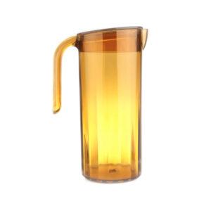 Juomakannu kannella 1,8l oranssi, polykarbonaatti