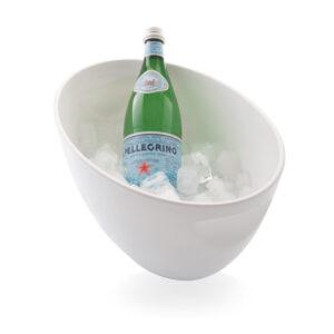 Jää-ämpäri 19cm, Valkoinen, polystyreeni