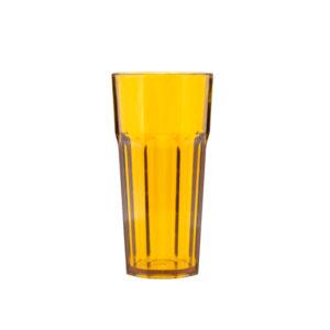 Uudelleenkäytettävä lasi 360ml, oranssi