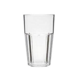 Korduvkasutatav Casablanca klaas 400ml läbipaistev