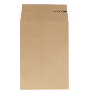Paberist postikotid 350x250x50 pruun, klapiga (250 tk)