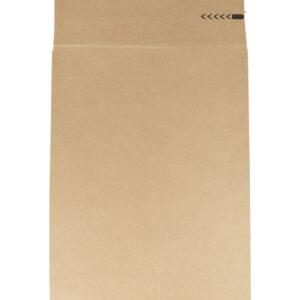 Paberist postikotid 450x350x120mm pruun, klapiga (200 tk)