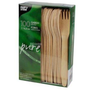 Puidust kahvlid 165mm (250 tk)
