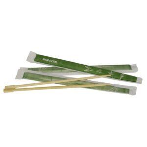 Bambu syömäpuikot 23cm yksittäispakattu (500 pari)